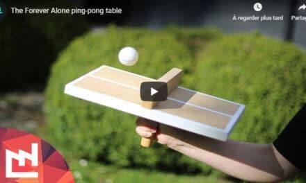 Fabrique toi-même ta mini-table de Ping Pong