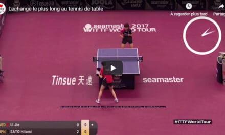 Les plus longs marathons au tennis de table