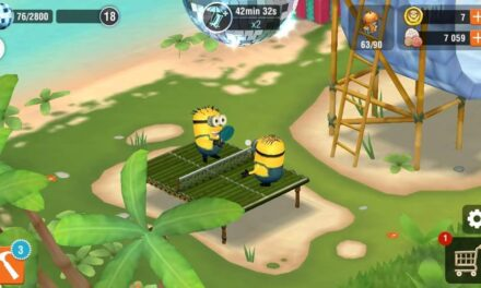 Les Minions au Ping Pong