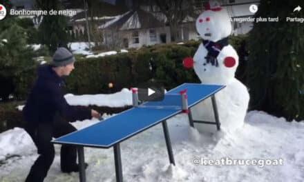 Perdre contre un bonhomme de neige !