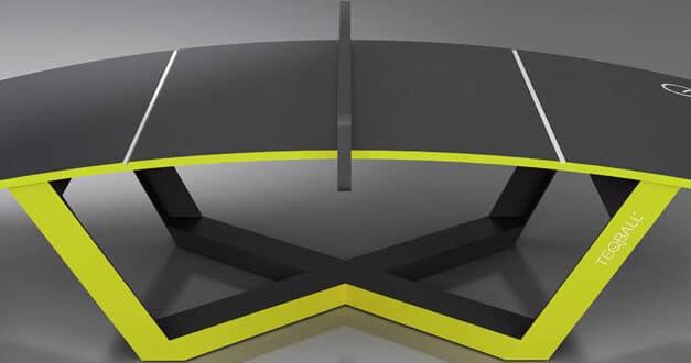 Teqball : le nouveau jeu entre le ping pong et le football