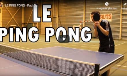 Tennis de Table – Définition pleine d'humour