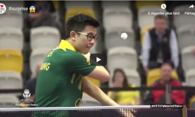 Les services les plus incroyables au Ping Pong