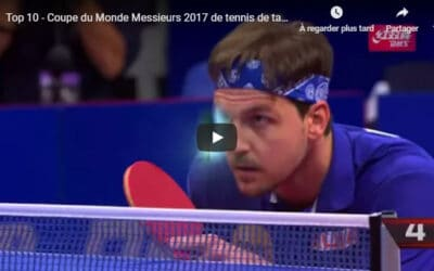 Résultats de la Coupe du Monde 2017 de tennis de table