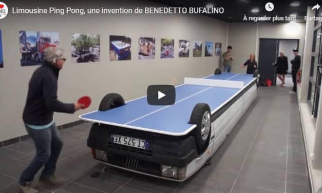 Limousine Ping Pong par Benedetto Bufalino