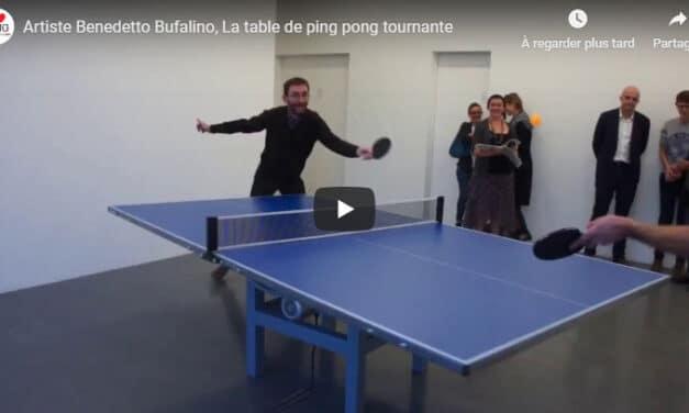 La tournante au Ping Pong vue par Benedetto Bufalino