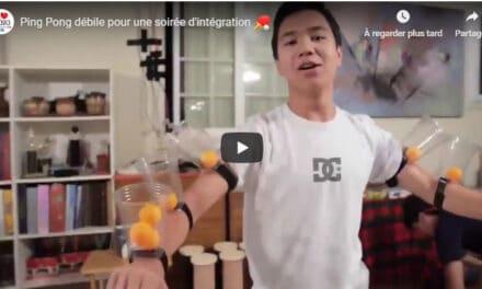 Ping Pong débile pour soirée d'intégration