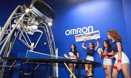 Omron, le robot qui joue au Ping Pong