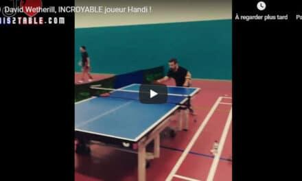 David Wetherill,  INCROYABLE joueur Handi !