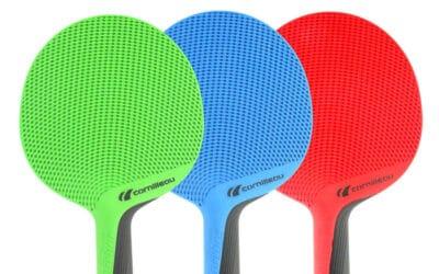 Incroyable ! Une raquette de Ping Pong fabriquée à partir de vêtements recyclés