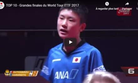 Les grandes finales du World Tour ITTF 2017 – Best Of