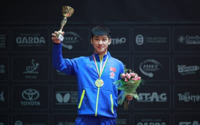 Les meilleurs moments des Championnats du Monde Juniors 2017 de tennis de table