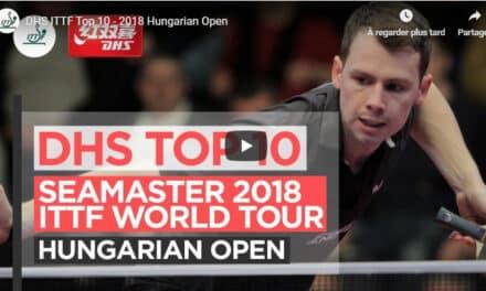Le meilleur de l'Open d'Hongrie de tennis de table