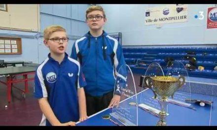 Reportage France 3 – deux frères parmi les meilleurs espoirs du tennis de table