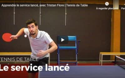 Apprendre à servir au tennis de table