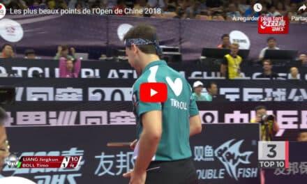 Le meilleur de l'Open de Chine 2018 de tennis de table