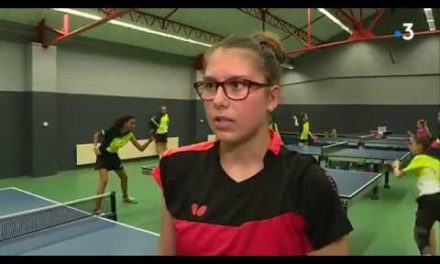 Reportage France 3 – Un nouveau pôle national de tennis de table à Nîmes