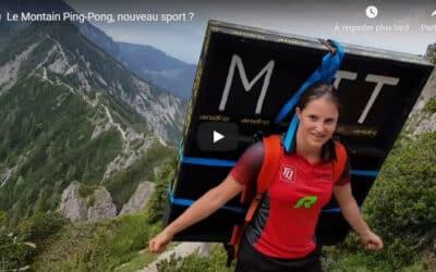 Le Montain Ping-Pong, nouveau sport ?