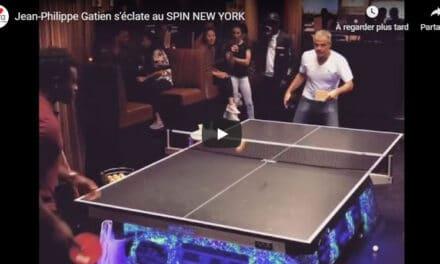 Le Spin New York – Ping Pong Bar