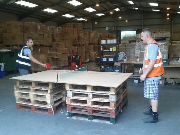 Ping Pong au travail