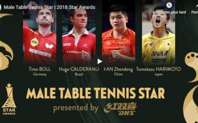 ITTF Stars Awards 2018