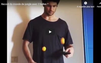 Record du Monde de Jongles au Ping Pong ?
