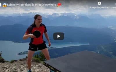 Ping Pong Everywhere avec Sabine Winter