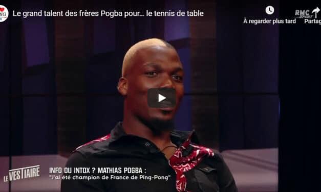 Les frères Pogba, Champions de tennis de table ⚽