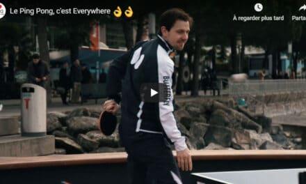 Ping Pong Everywhere avec Timo Boll et Vladimir Samsonov