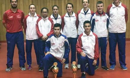 3 médailles pour les français à l'Open Cadets et Juniors de République Tchèque