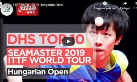 Le meilleur de l'Open d'Hongrie 2019