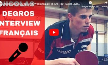 Reportage sur Nicolas Degros