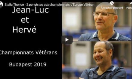 Reportage Stella Thonon – 2 pongistes aux championnats d'Europe Vétéran