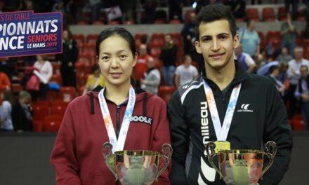 Résultats et replays des Championnats de France tennis de table Senior – 2019
