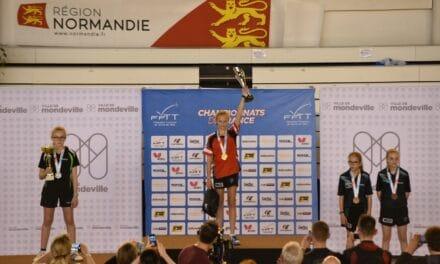 Championnats de France minimes – juniors tennis de table 2019