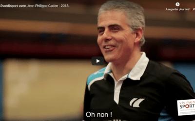 L'handisport avec Jean-Philippe Gatien