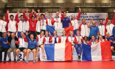12 médailles aux Championnats d'Europe Jeunes 2019