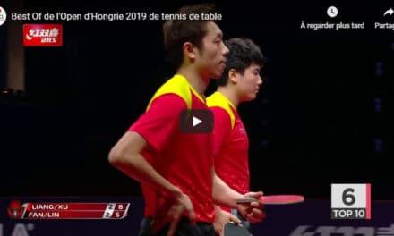 Le meilleur de l'Open d'Hongrie 2019 de tennis de table