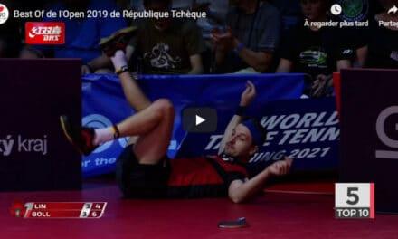 Le meilleur de l'Open de République Tchèque 2019 de tennis de table