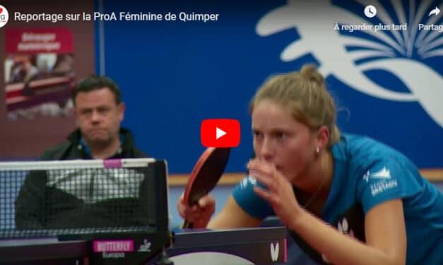 Reportage sur l'équipe de ProA féminine de Quimper