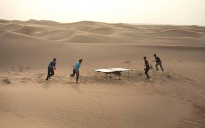 Ping Pong dans le désert