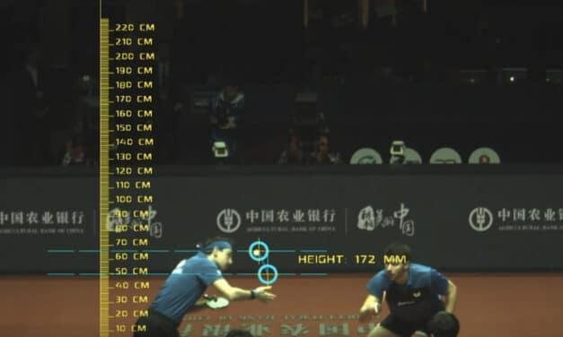 L'arbitrage video arrive au tennis de table