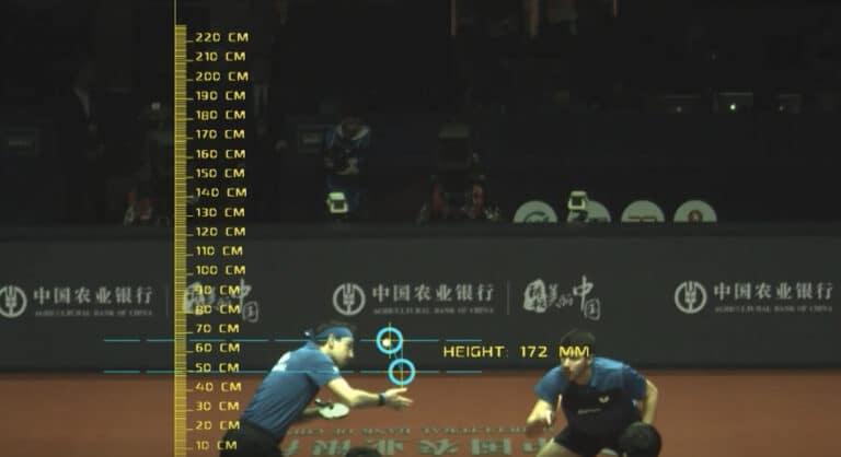 Arbitrage vidéo au tennis de table