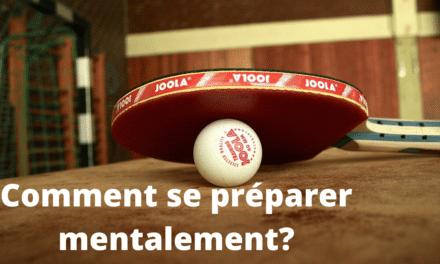 La préparation mentale au tennis de table