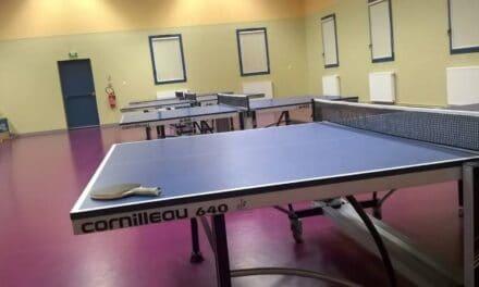 Le club de Tarare, dans le Rhône (69) vient de se faire voler 7 tables Cornilleau 640