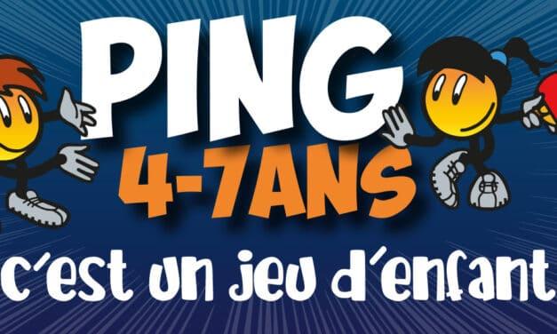 Fête du Ping pour les 4 – 7 ans