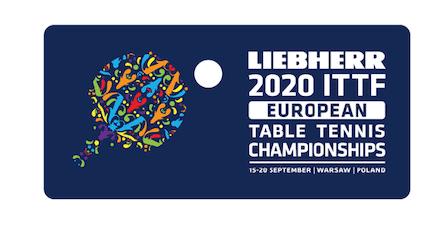 Les Championnats d'Europe de tennis de table LIEBHERR 2020 reportés
