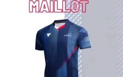 Nouvelles tenues de l'équipe de FRANCE de tennis de table