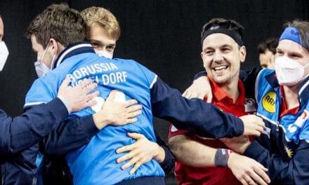 Borussia Düsseldorf gagne la Coupe d'Allemagne de tennis de table