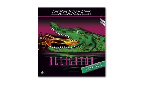 Revêtement DONIC Alligator Anti